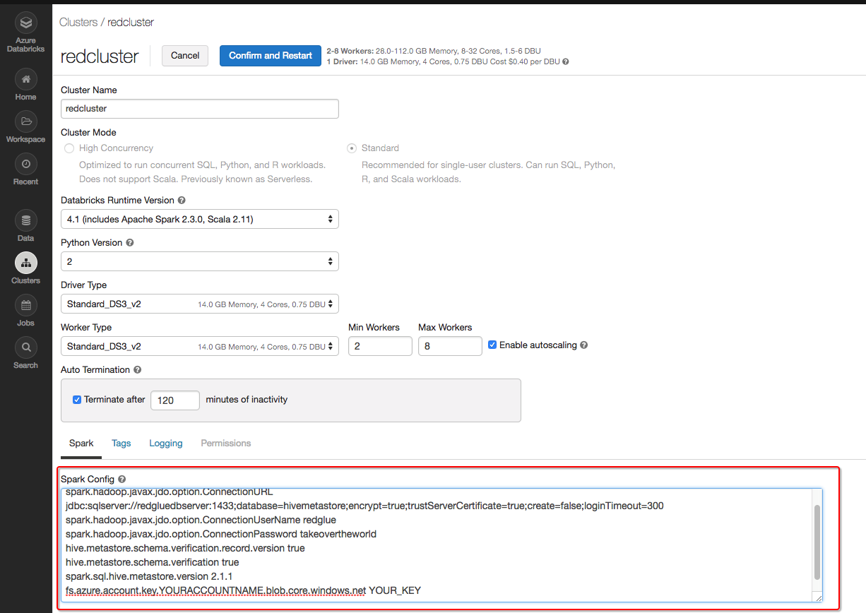 Azure Databricks and Azure HDinsight Hive Integration - Link Consulting